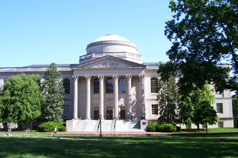 Wilson Library, completed 1929