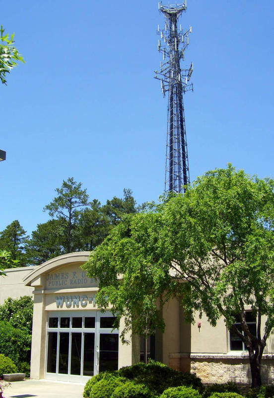 James F. Goodmon Public Radio Building, dedicated 1999