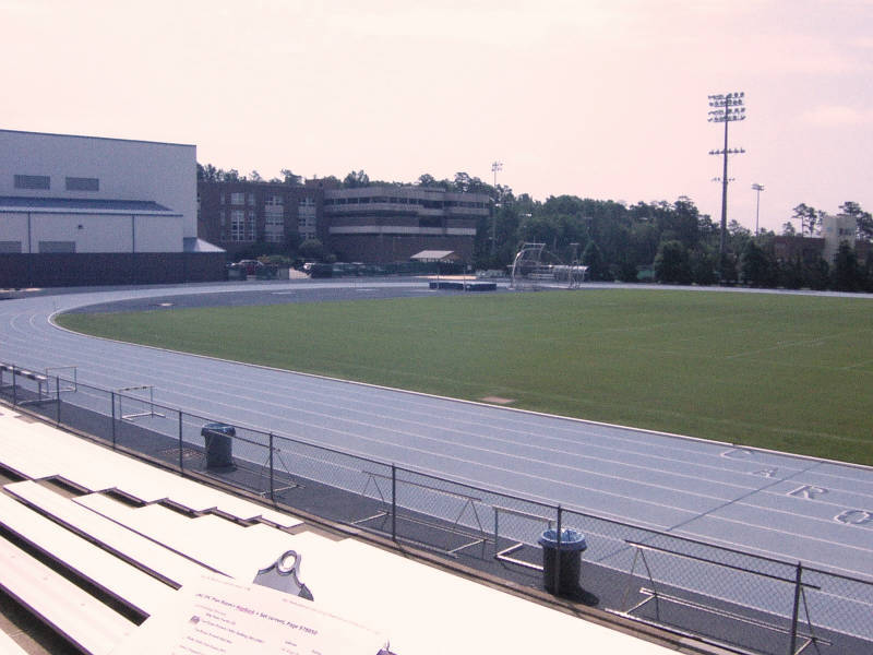 Irwin Belk Track, 1990