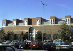 Hanes Art Center, completed 1985