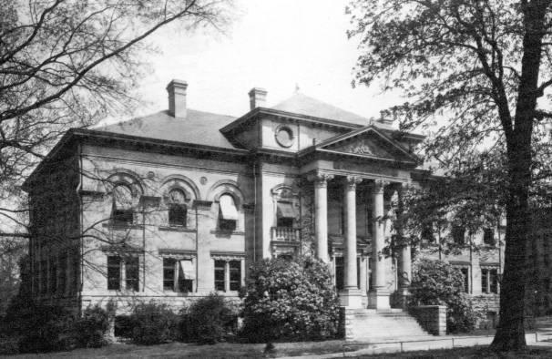 Alumni Hall, 1901