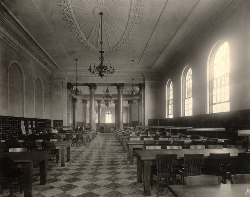 Rare Book Collection and Reading Room, Wilson Library (1929)
