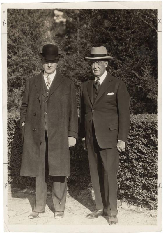 John Motley Morehead III (1870-1965) and Rufus Lenoir Patterson II (1872-1943)
