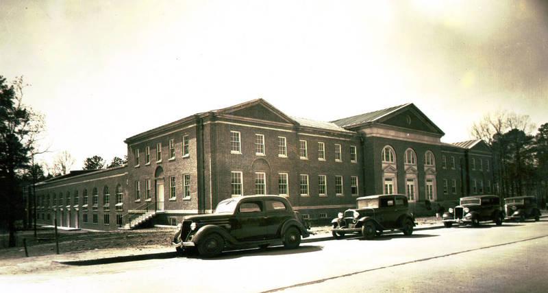 Woollen Gymnasium, named 1937