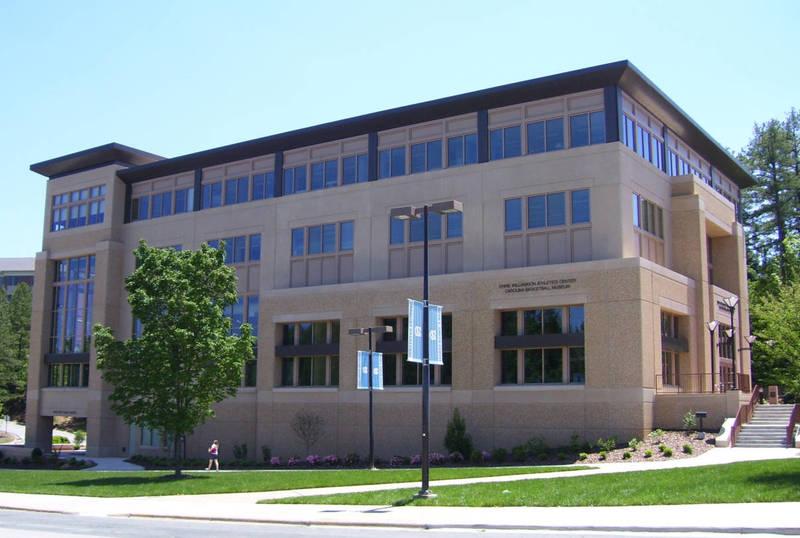 Ernie Williamson Athletic Center & Carolina Basketball museum, completed 2008