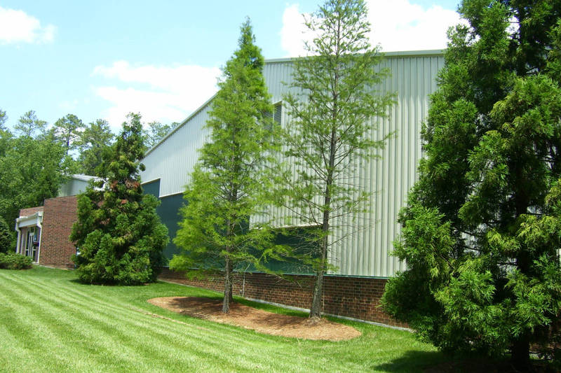 Cone-Kenfield Tennis Center, completed 1992