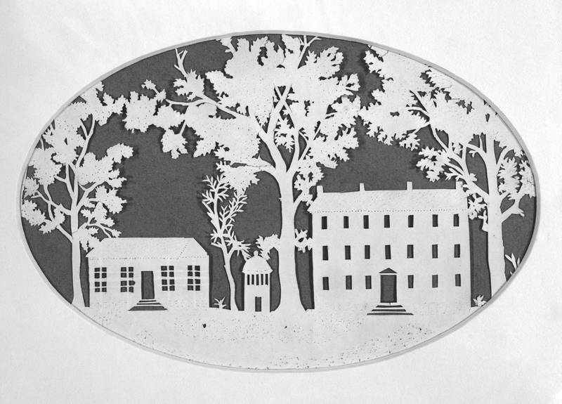 Silhouette of the UNC Chapel Hill campus