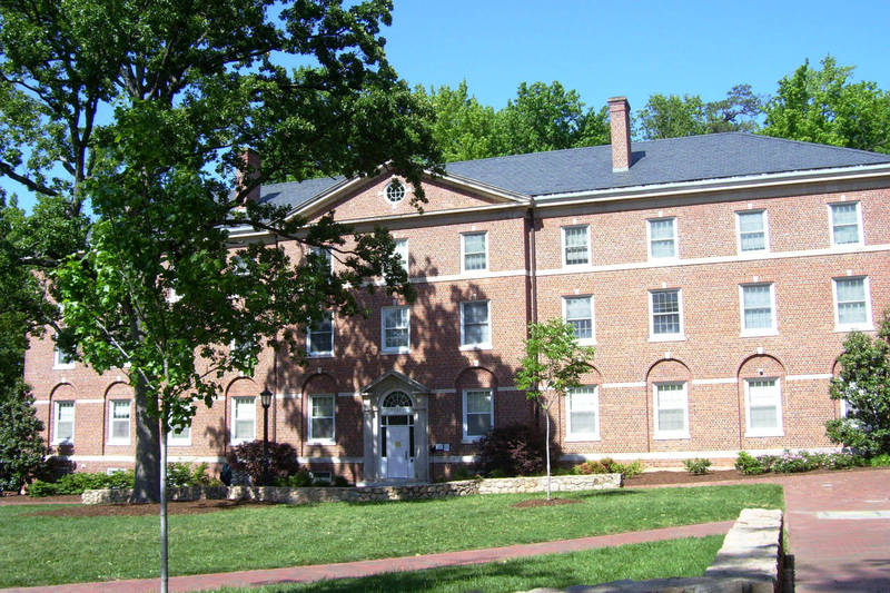 Stacy Residence Hall, completed 1938