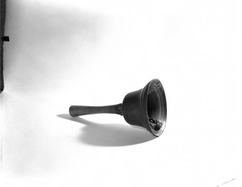 Bell rung for class changes, 1850s