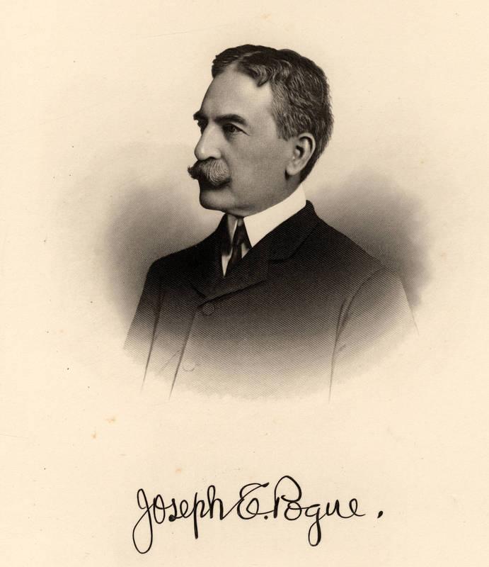 Joseph Ezekiel Pogue (1887-1971)