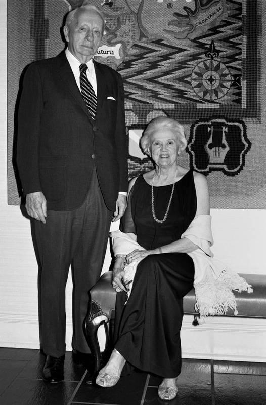 Albert Coates (1896-1989) and Gladys Hall Coates (1902-2002)