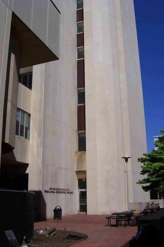 Brinkhous-Bullitt Building, completed 1973, named 1983