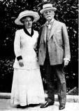 Mary Lily Kenan Flagler Bingham with Henry Morrison Flagler (1830-1913)