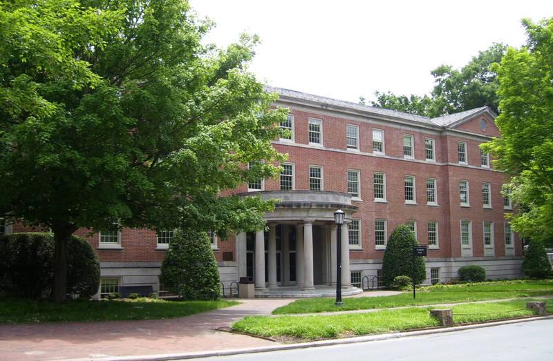 Contemporary Photo of Peabody Hall
