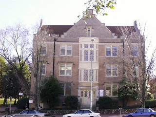 Battle Hall, completed 1912