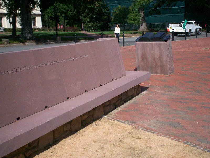 Carolina Alumni Memorial in Memory of Those Lost in Military Service