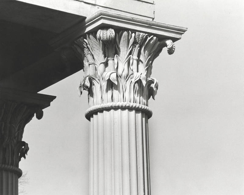 Column capital, Playmakers Theatre