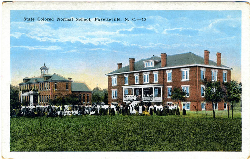 The State Colored Normal School, Fayetteville, NC