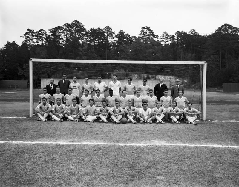 Soccer team, 1963
