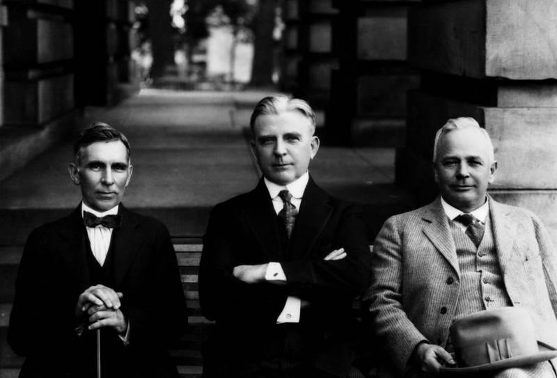 Locke Craig, Cameron Morrison (1869-1953) and Thomas Bickett