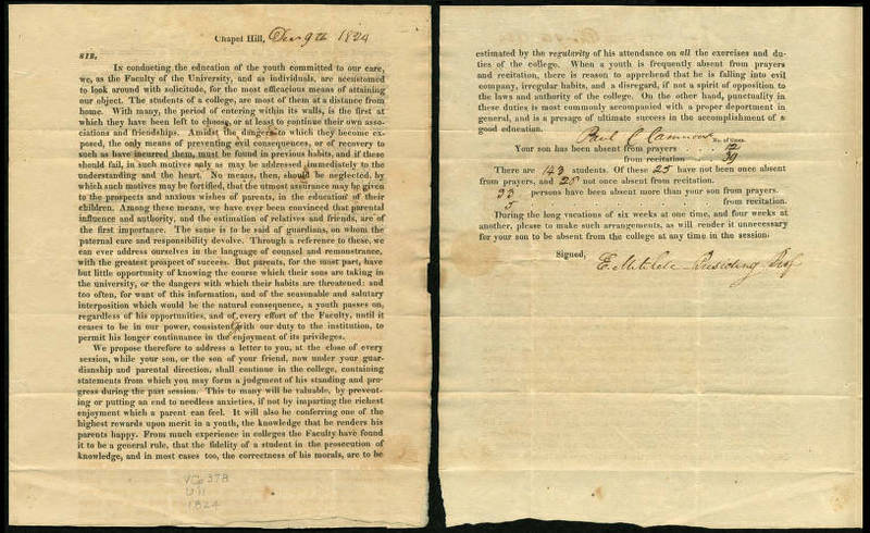 Letter to parents, December 9, 1824