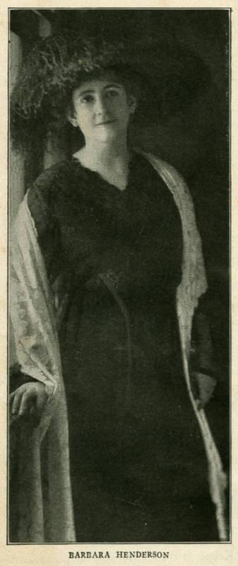 Barbara Bynum Henderson (1882-1955)