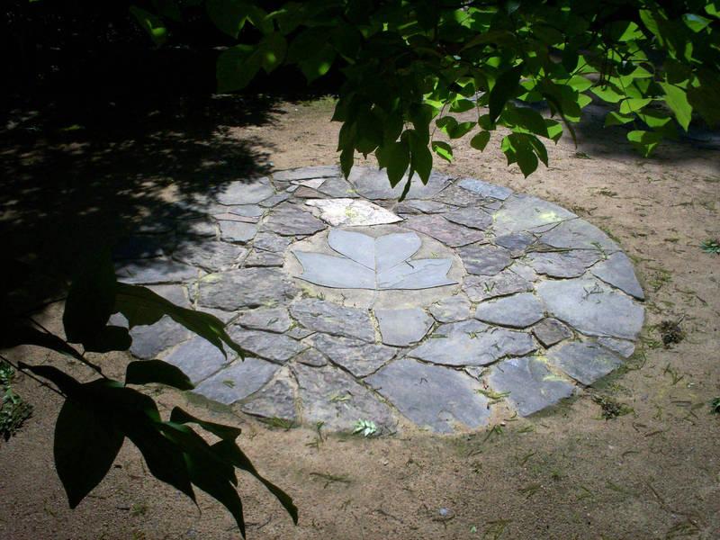 Coker Arboretum Wisteria Arbor and Gathering Circle