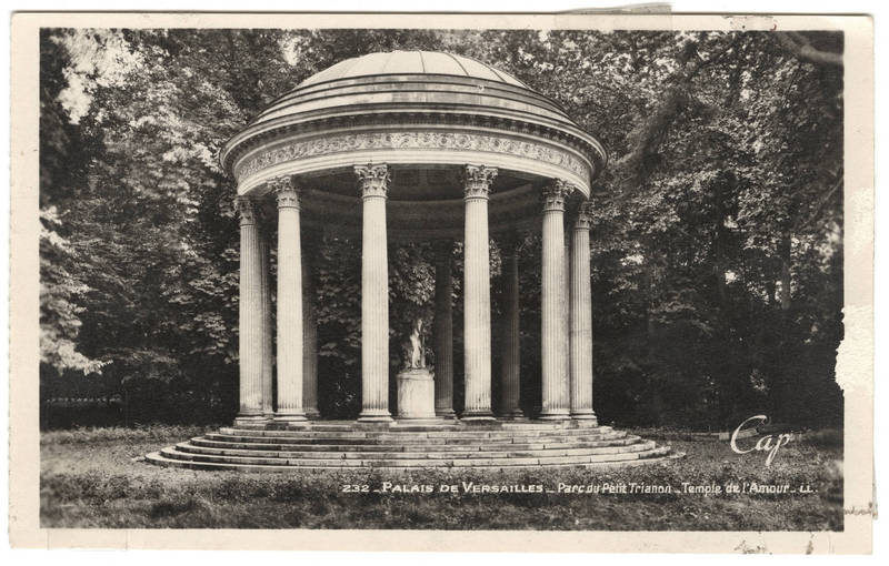 The Temple of Love, Versailles (1775)