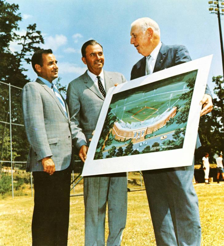 Cary Carlisle Boshamer (1895-1973), Homer Rice and Walter Rabb