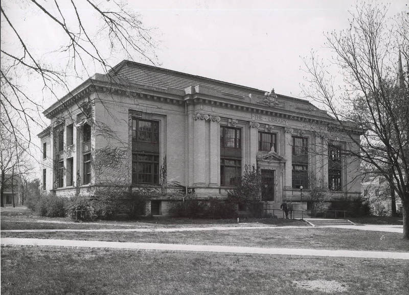 Library building, 1907-1929