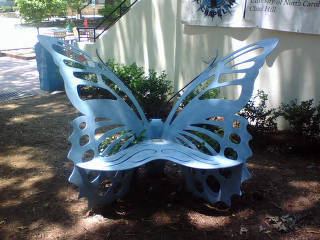 Eve Carson Memorial Butterfly Bench