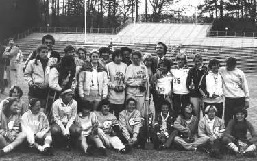 Women's Soccer Team, 1981
