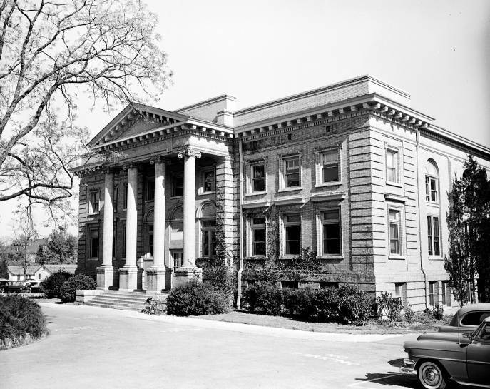 Bynum Hall, dedicated 1905