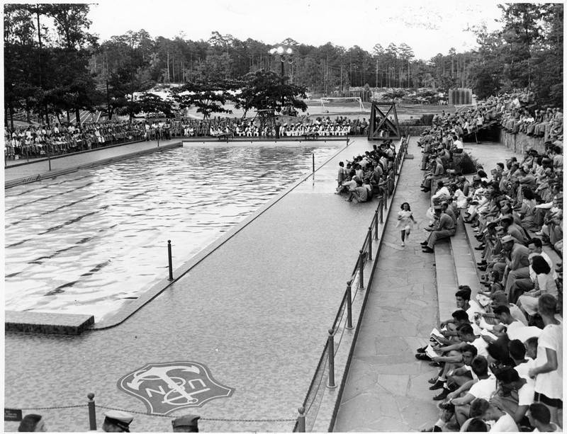 Kessing Pool, completed 1943