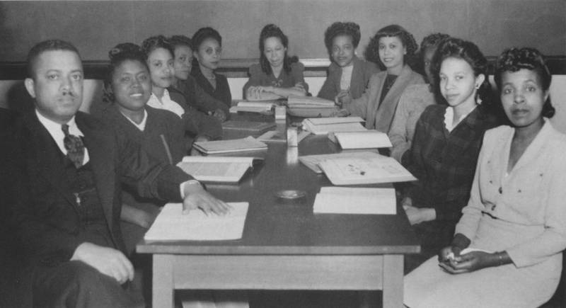 The first public health class at the North Carolina College for Negroes, 1945-6