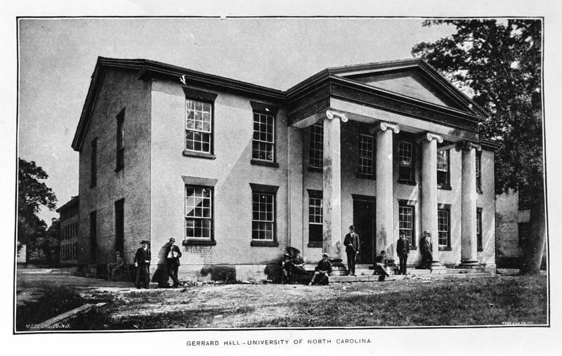 Gerrard Hall (1822-1837)