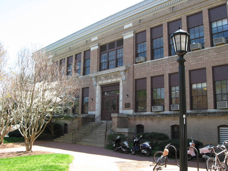 Contemporary Photo of Caldwell Hall