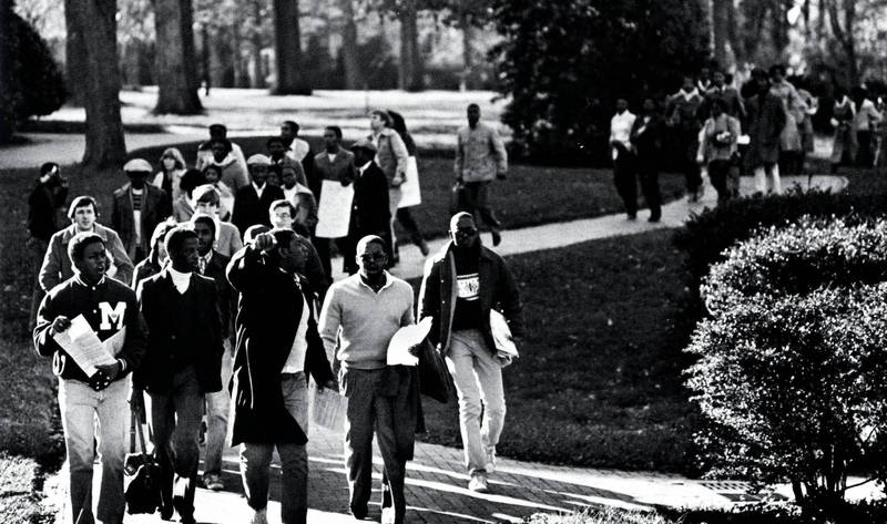 Protests Against the UNC Administration, 1979