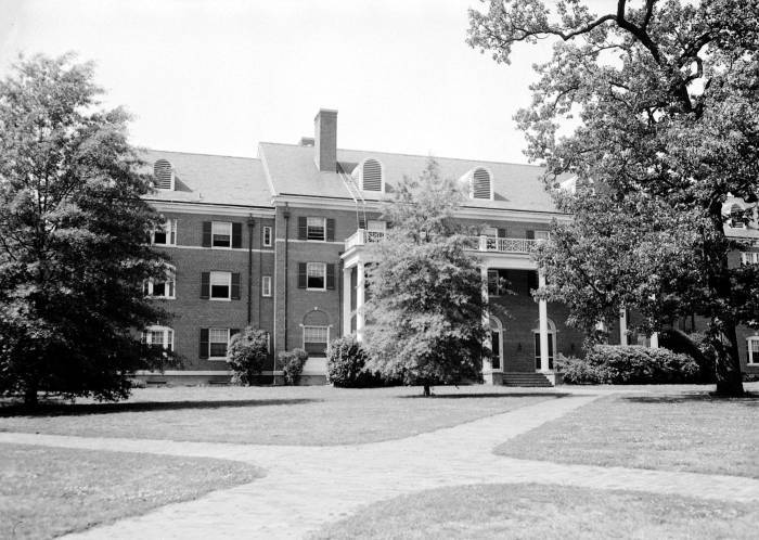 Alderman Residence Hall, 1937