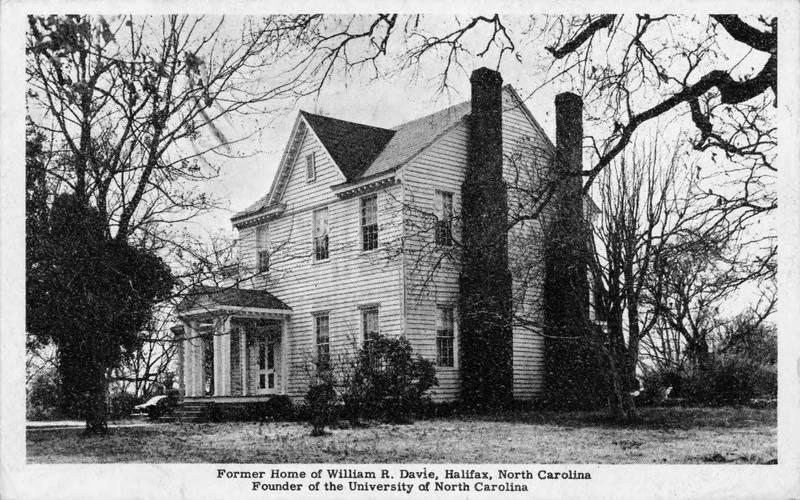 William R. Davie's residence in Halifax, North Carolina