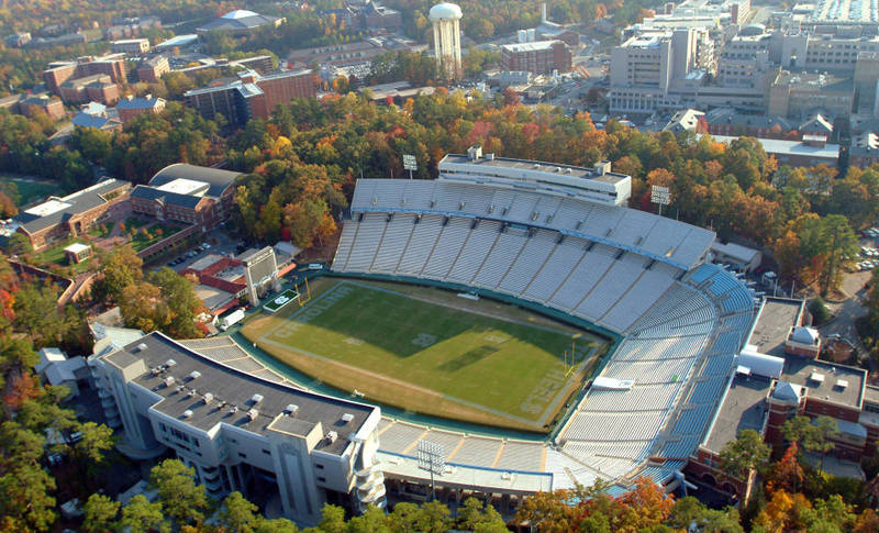 Kenan Stadium, completed 1927