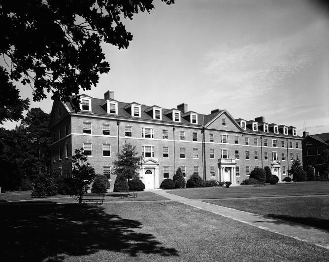 Avery Residence Hall, 1958