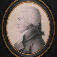William Richardson Davie (1756-1820), miniature engraving by Gilles-Louis Chr